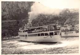 Napels Napoli Italia Traghetto Ferry S.P.A.N. - Società Partenopea Di Navigazion Barca Photo Foto Gevaert  Barry 4026 - Napoli (Nepel)