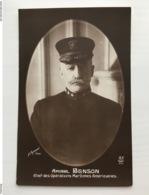 Ak Cp Amiral Benson Chef Des Operations Maritimes Americaines Photo Manuel - War 1914-18