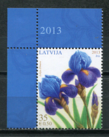 Latvia 2013 Letonia / Flowers Iris MNH Flores Blumen Fleurs / Cu6936  31-25 - Vegetales