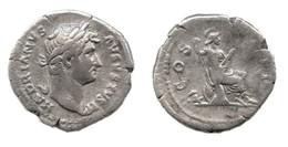 [H] +++ AR Denarius - HADRIAN -- RIC 332 --  COS III - Roma Reverse +++ - 3. Die Antoninische Dynastie (96 / 192)