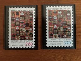Timbres De Service Conseil De L'Europe - Y&T 112 à 113 - 1994 - Neuf ** - Mint/Hinged