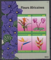 Togo 2014 / Flowers MNH Flores Blumen Fleurs / Cu2932  31-62 - Vegetales