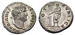 [H] +++ AR Denarius - HADRIAN -- RIC 290 -- Veiled Emperor Reverse - Beautiful +++ - 3. Die Antoninische Dynastie (96 / 192)