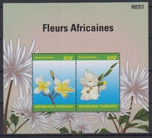 Togo 2014 / Flowers MNH Flores Blumen Fleurs / Cu2931  31-63 - Vegetales