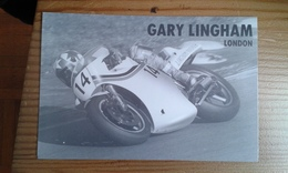 Carte Postale Moto Gp Gary Lingham - Motorbikes
