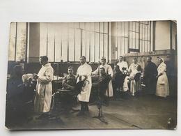 Foto Ak Soldaten Francais Dentist? - Weltkrieg 1914-18
