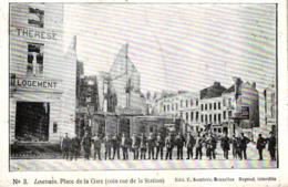 Louvain, Place De La Gare, Um 1915 - Leuven