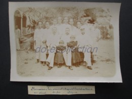 VIETNAM SAIGON Photo C. 1880 Hôpital Militaire Rue Lagrandière Pharmacien Photographie XIX 19e Indochine Indochina Asie - Fotos