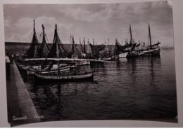 Termoli - Porto - Viaggiata Anni '50 - Barca, Boat, Ship - Italia