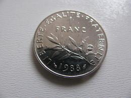 France : 1 Franc 1988    - Prix : 4,90 €  Très Bel état - France
