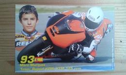 Carte Postale Moto Gp Ktm 125 Marc Marquez - Motorbikes