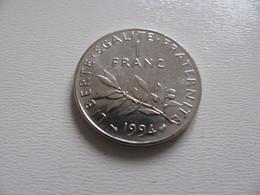 France : 1 Franc 1994    -  Prix : 1,50 €  Très Bel état - France