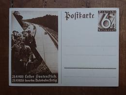 GERMANIA III REICH - Cartolina Postale Commemorativa Del 1933 Con Hitler - Nuova + Spese Postali - Interi Postali