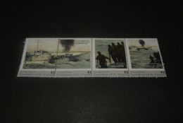 K23646  - Personalised Set In Strip  MNh Young Islands  2010 - World War II - Operation Infatuate - WW2