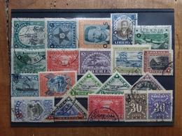 LIBERIA Anni '20/'30 - Lotticino 20 Francobolli Differenti Timbrati (1 Valore Manca 1 Dente) + Spese Postali - Liberia