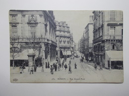 Carte Postale - ROUEN (76) - Rue Grand Pont (3785) - Rouen