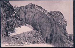 Montana, Alpiniste Au Col Du Rawil Sur Montana (6818) - VS Valais