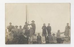 59 ZUYDCOOTE - CARTE PHOTO - Colonie De Vacances 1923 - Bateau Sur La Plage - Animée - Nord - Altri Comuni