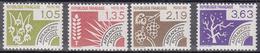 France Timbres Préoblitérés Neufs N° 178 à 181 - 1964-1988