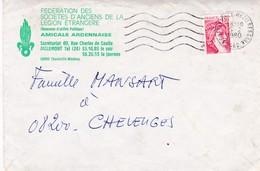 08-Fédération Des Sociétés D'Anciens De La Légion Etrangère ..Charleville-Mézières (Ardennes) - Documents