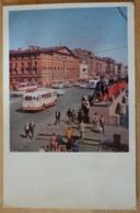 Sankt Petersburg Leningrad Nevsky Prospekt Anichkov Bridge Russland UDSSR - Russland