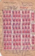 Administration Communale D' Anvaing    (ravitaillement) - 1939-45