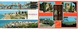 Rhodos 2 Postcards - Griechenland