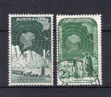 AUSTRALIA ANTARCTIC AAT Yt. 4/5° Gestempeld 1959 - Gebraucht