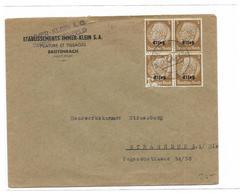 Enveloppe Etablissement IMMER - KLEIN 68 BREITENBACH Oblitération Deutches Reich - Elsass-Lothringen