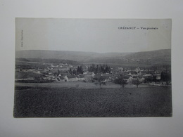 Carte Postale - CREZANCY (02) - Vue Générale (3803) - Altri Comuni