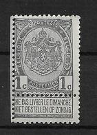 OBP53, Postfris** - 1883 Léopold II