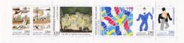 Frankreich, 1994,  3012/17 MH 35, MNH **,  Kulturelle Beziehungen Zwischen Frankreich Und Schweden.  Carnet De Timbres. - France