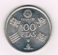 100 PESETAS 1980 (ster 80) SPANJE /9464/ - [ 5] 1949-… : Kingdom