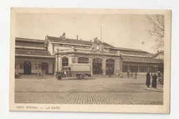 88 EPINAL - La Gare - Animé - Cpa Vosges - Epinal