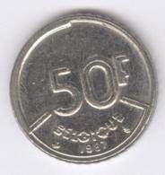 BELGIQUE 1987: 50 Fr., KM 168 - 1951-1993: Baudouin I