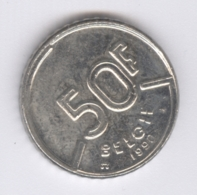 BELGIE 1990: 50 Fr., KM 169 - 1951-1993: Baudouin I