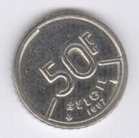 BELGIE 1987: 50 Fr., KM 169 - 1951-1993: Baudouin I