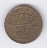 BELGIE 1970: 50 Centimes, KM 149 - 03. 50 Centimes