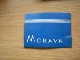 Old Cardboard Tobacco Box Morava - Empty Tobacco Boxes