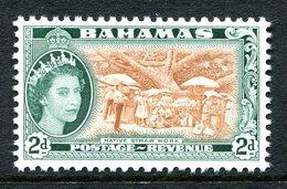 Bahamas 1964 QEII Definitive - New Wmk. - 2d Straw MNH (SG 246) - Bahamas (...-1973)