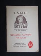 VP BELGIQUE (M1911) PROSPECTUS ESSENCES LICK (2 Vues) Quelques Conseils Pratiques - Maisières Hainaut - COCKTAILS - Autres Collections