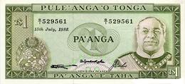 BILLET TONGA 1 PA'ANGA - Tonga