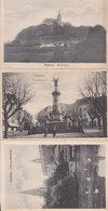 Siegburg Swans Birds Statue 3x Antique German Postcard S - Duitsland
