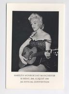 MARILYN MONROE Joue De La Guitare - Marilyn Monroe Day - Manchester - 20th August 1989 - Third Annual Convention - Donne Celebri