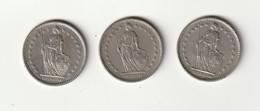 2 Francs - Suisse