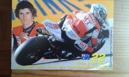 Carte Postale Moto Gp Honda Jason O'halloran - Motorbikes