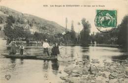 03 , Gorges De CHOUVIGNY , Un Bac Sur La Sioule , CF * 362 90 - Altri Comuni