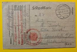 9730 - Feldpostkarte 03.04.1917 Kaiserlich Deutscher SudArmee - Allemagne