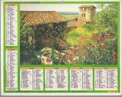 ALMANACH DES POSTES  1992 ( CALENDRIER  ) - CASTELNAU-DE-LEVIS / LA ROQUETTE - Calendriers