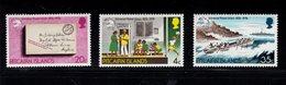 900271225 1974 UPU - PITCAIRN ISLANDS SCOTT 141 - 143 POSTFRIS MINT NEVER HINGED EINWANDFREI (XX) - Timbres